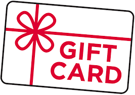 Gift Cards $25 - $100