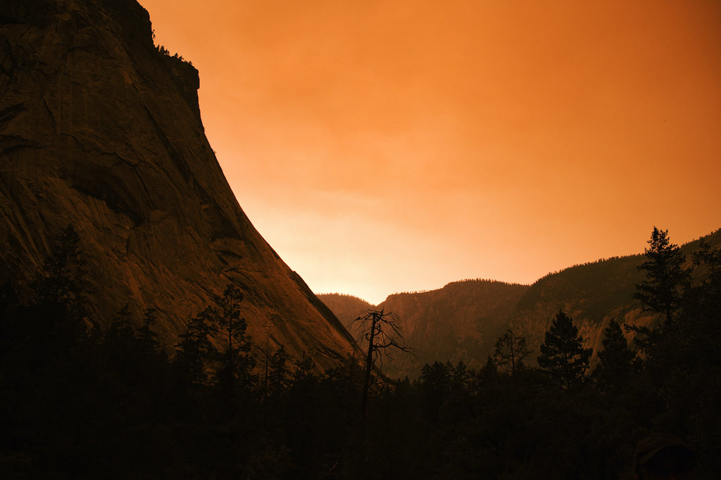 Walking in Yosemite National Park, Experiencing California Wildfire