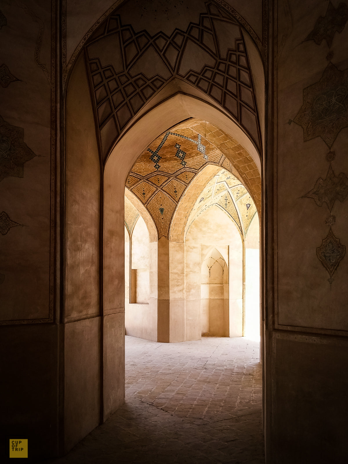 Pathway Through Agha Bozorg Mosque, Kashan