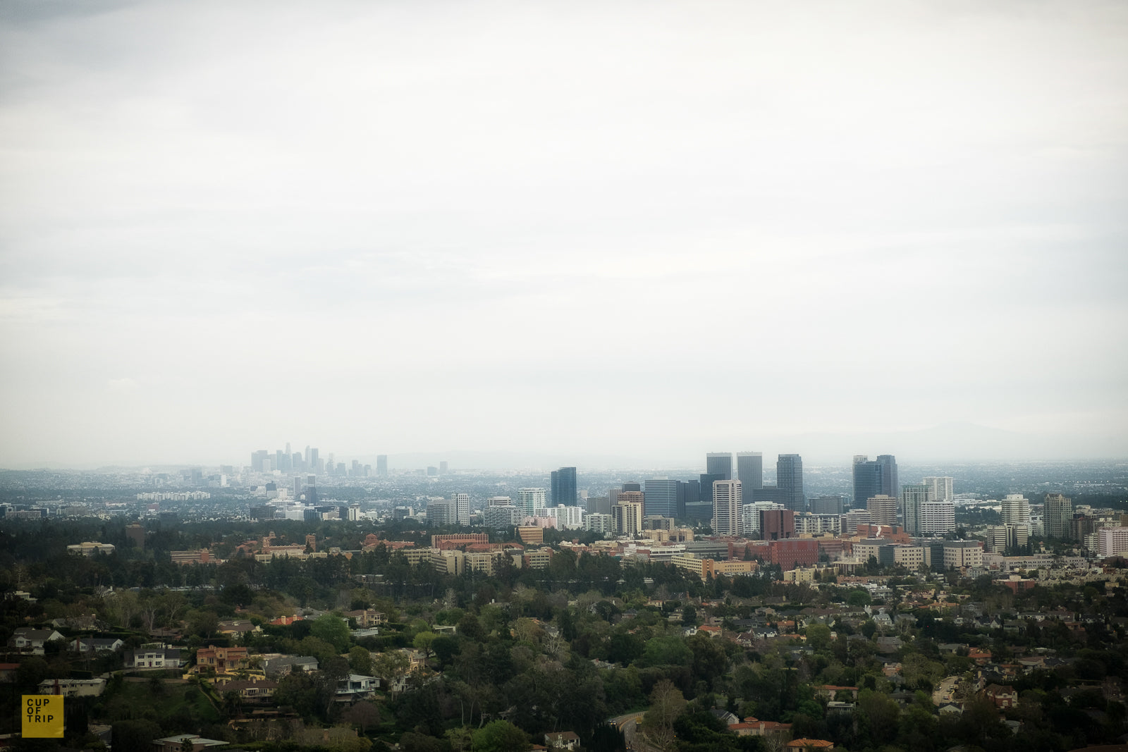 A View of Downtown LA, California