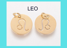 Load image into Gallery viewer, Charm - Zodiac - LEO