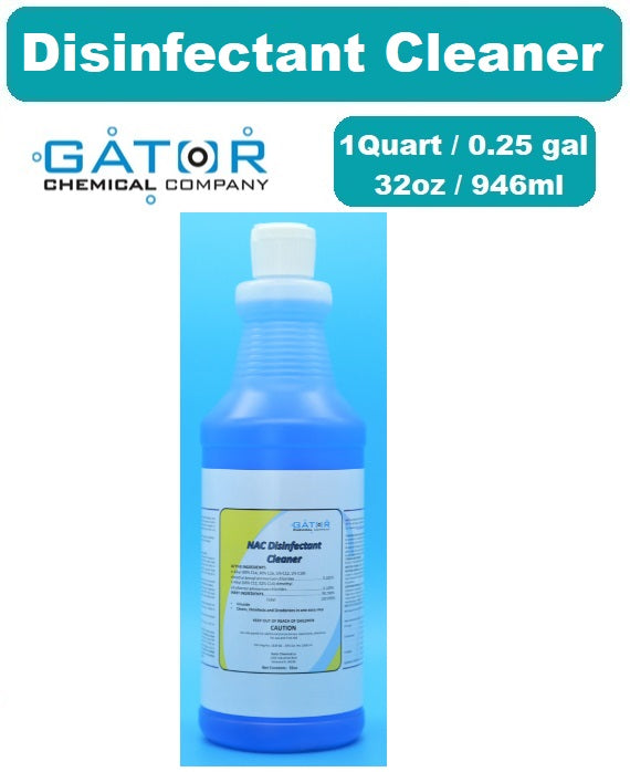 (SOLD OUT)-GATOR Disinfectant Cleaner (1Qt/32oz) - Liquid Type