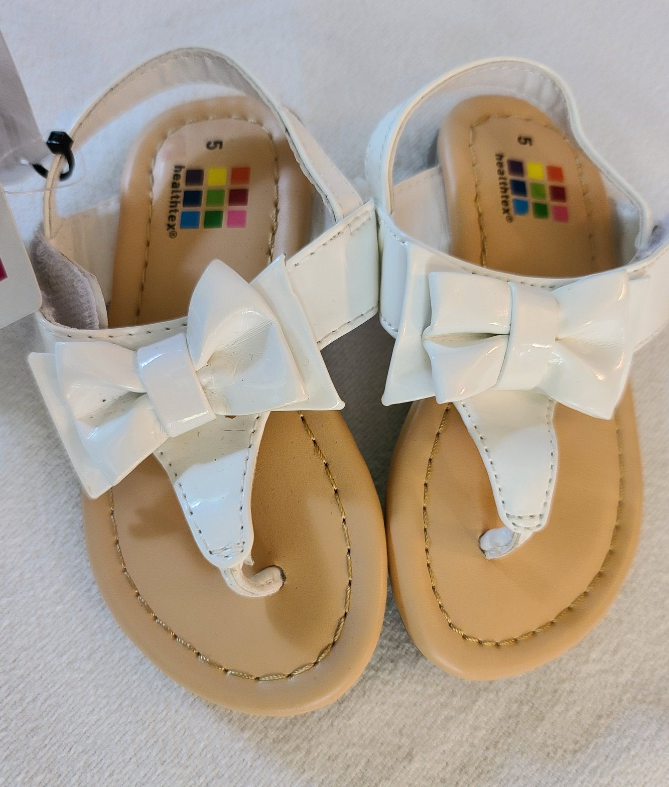 *NWT* HEALTHTEX  flip flop sandals, Toddler Girls Size 5