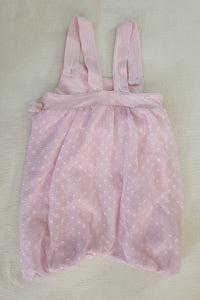 Pink summer romper; Infant girls size 18-24 months