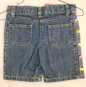 *NWT* GYMBOREE denim shorts; Girls size 3T