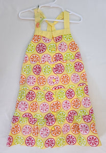 GYMBOREE 2 pcs set - summer dress & hair clip; Girls size 5