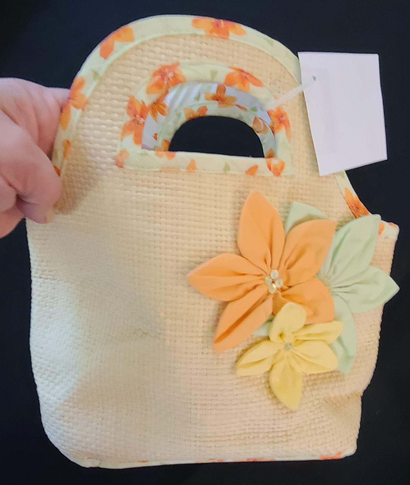 GYMBOREE straw handbag