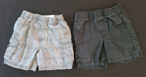 2 pc bundle of shorts - GARANIMALS & CIRCO; boys 18m