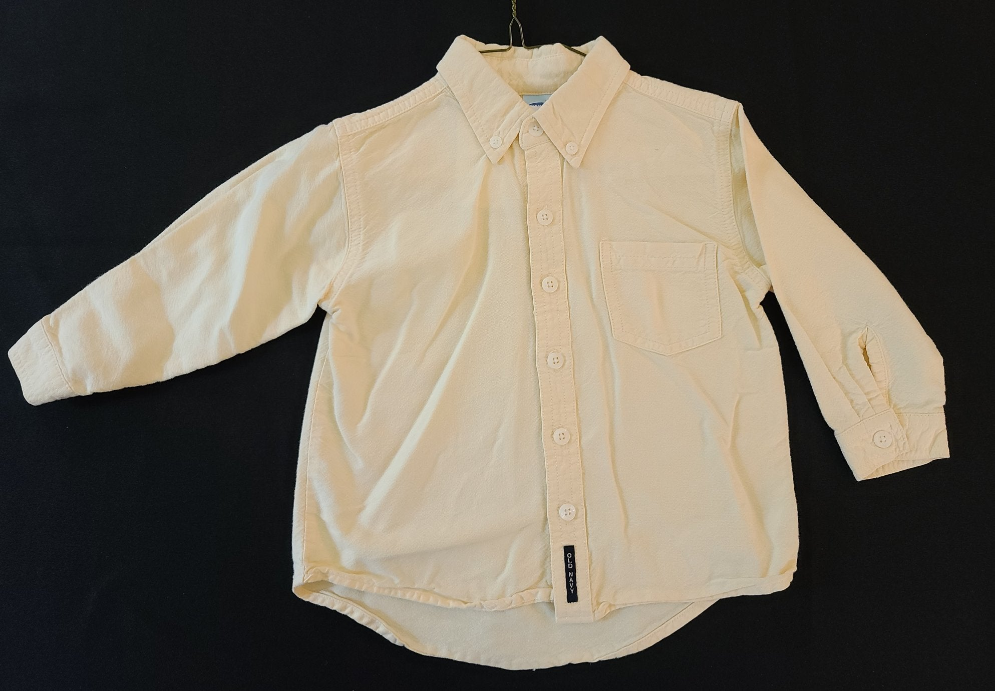 OLD NAVY long sleeve button-up shirt; boys 2T