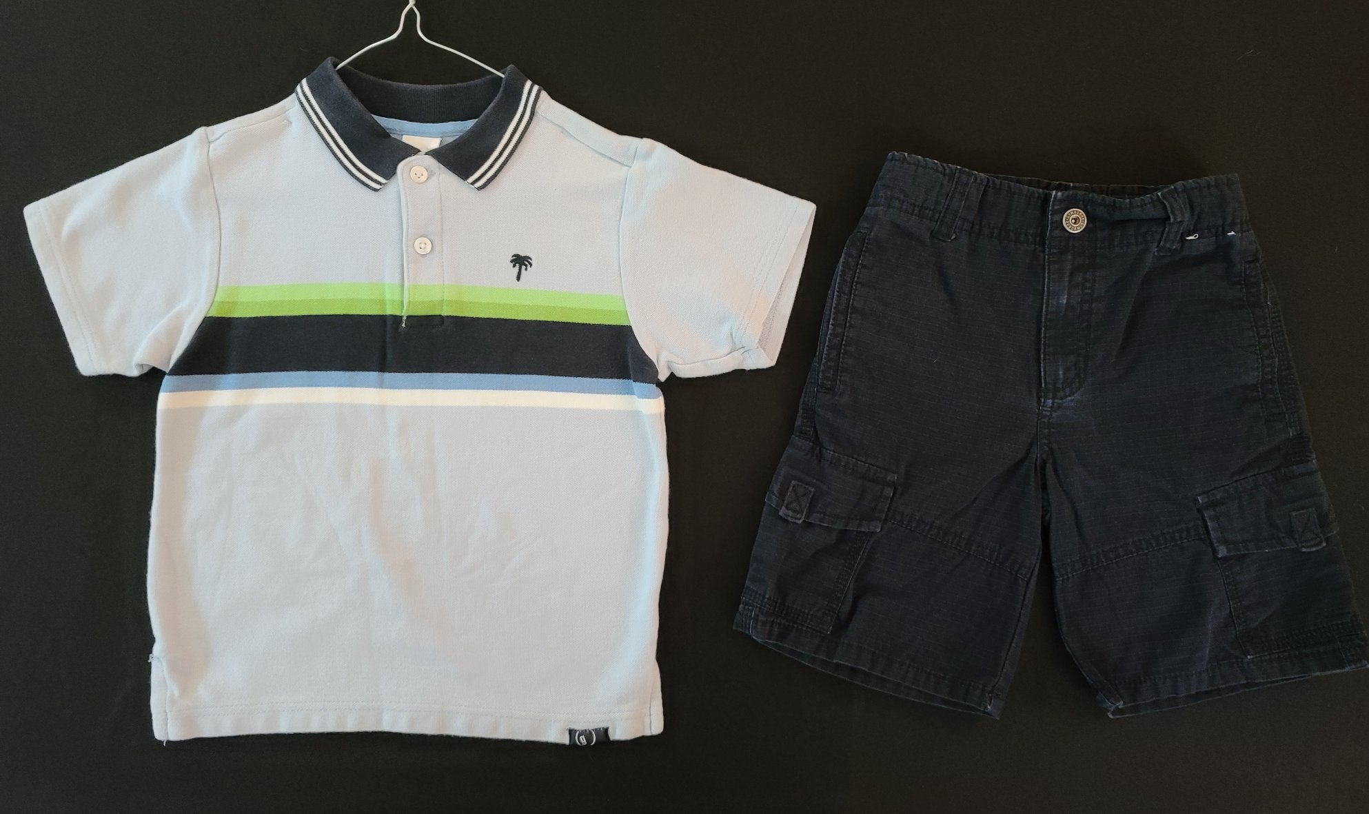 GYMBOREE 2 pc set - shirt & shorts; boys 4