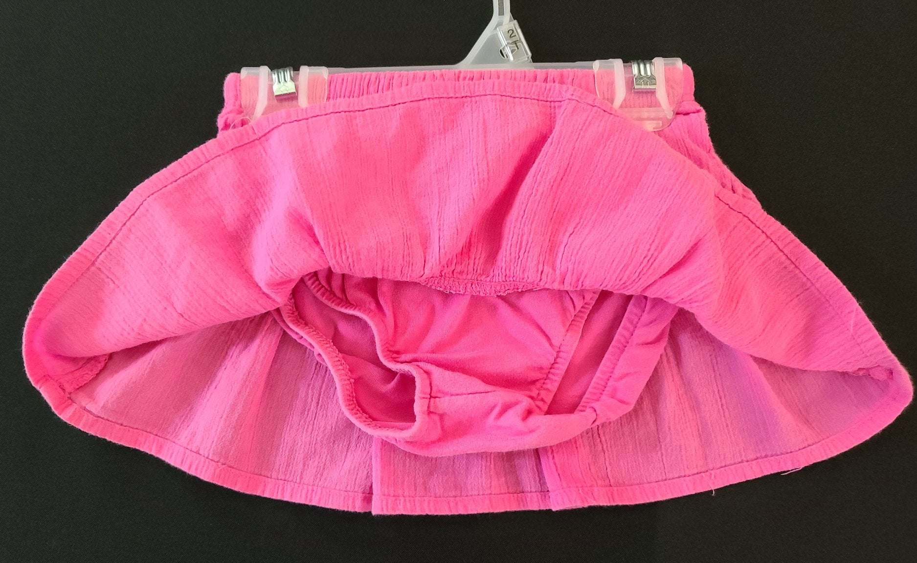 CARTERS ruffle skirt; Girls 18m