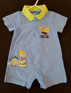 JUST ONE YOU short sleeve, shorts romper; boys NB