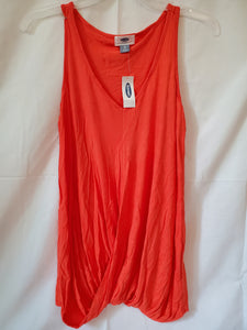 NWT X-SMALL OLD NAVY orange tank top