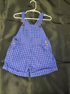 Place Overalls Purple Girls 24 mo
