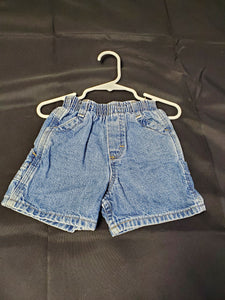 Oshkosh Jean Shorts Boys 18 mo