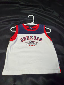Oshkosh Tank Top Boys 18 mo