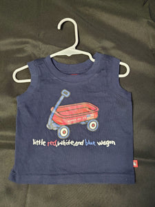 4th of July Tank Top Boys 12 mo