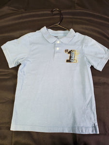 Gymboree Polo SS Shirt Boys 8