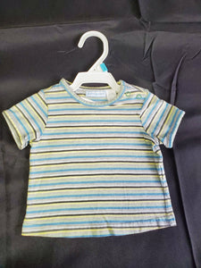 First Impressions SS Shirt Boys 3-6 mo
