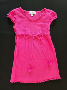 IZ short sleeve sweater dress; girls 6