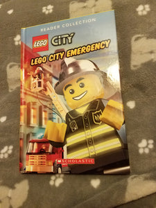 Lego City Emergency 1st reader stories