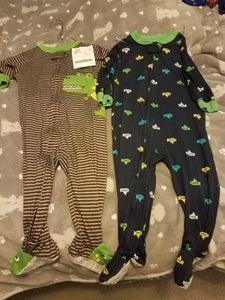 Carters boys 18 month lightweight sleepers 2 ct.