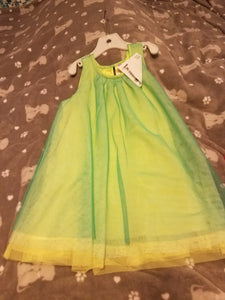 Cherokee green tulle dress size 4T