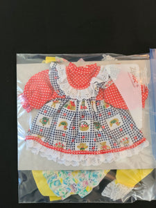 "DOLL CLOTHES 2 pcs, for 16"" doll"