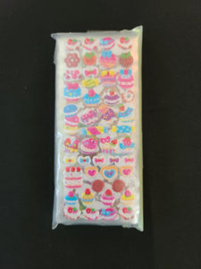 3D Small puffy stickers - 16 sheets w/ over 800 stickers!