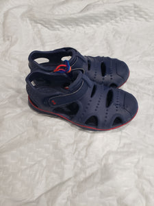 Toddler boys size 12 blue water shoes