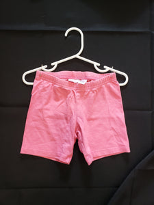 Jumping beans girls 5T pink kart wheel shorts