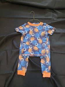 Boys 4T Just one you 2 piece sports pajamas