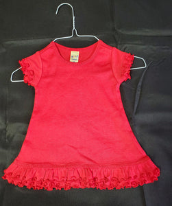 NWOT Kavio Red Dress Girls 6 mo