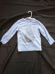 The Children's place boys 4T blue long sleeve shirt