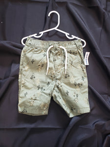 Old Nay boys 3T green shorts. new with tag