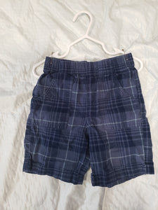 Circo 3T blue plaid shorts