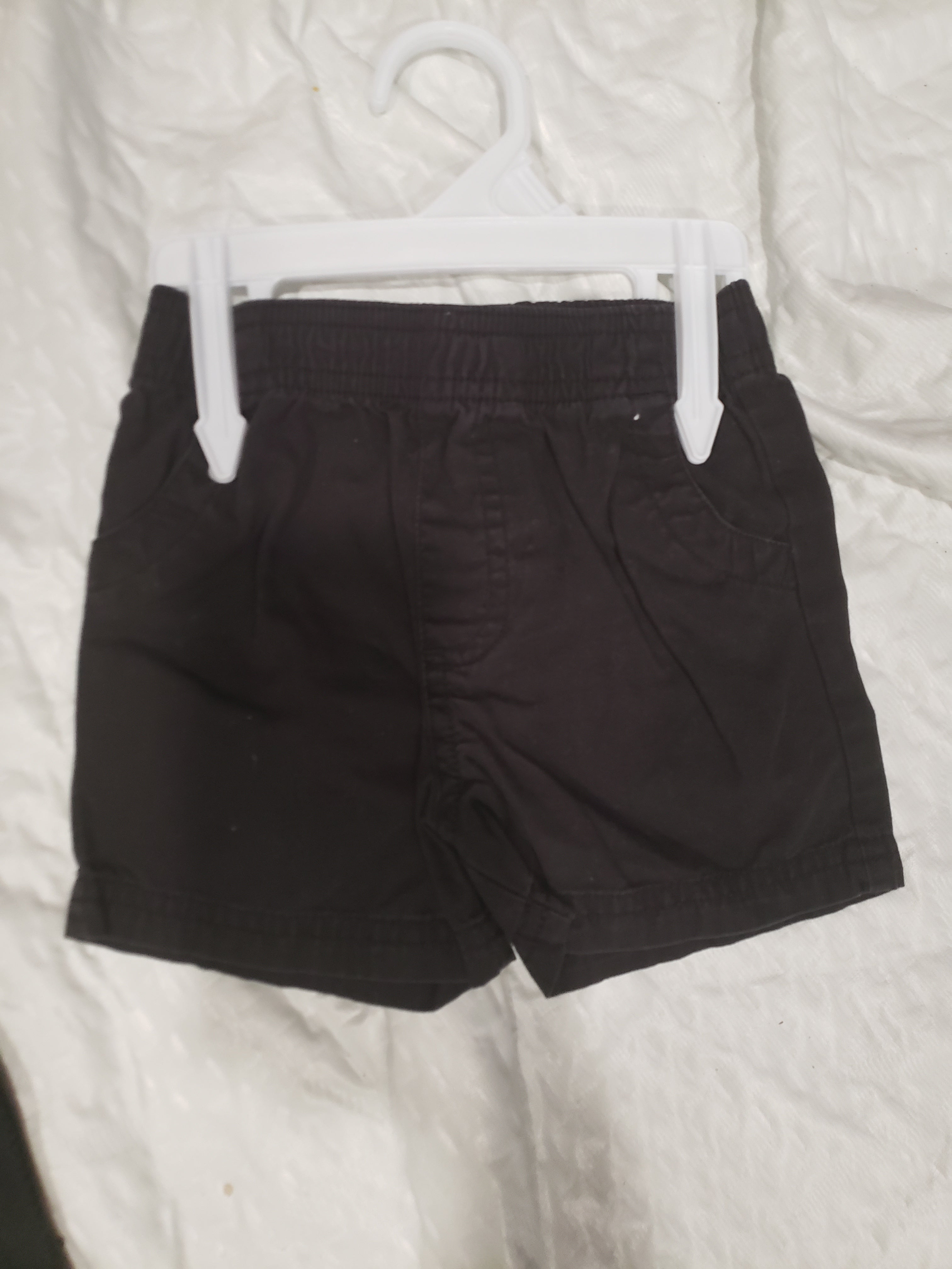 Girls 12 month black shorts