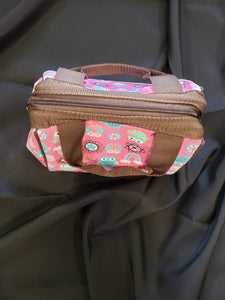 fit and fresh pink lunch box