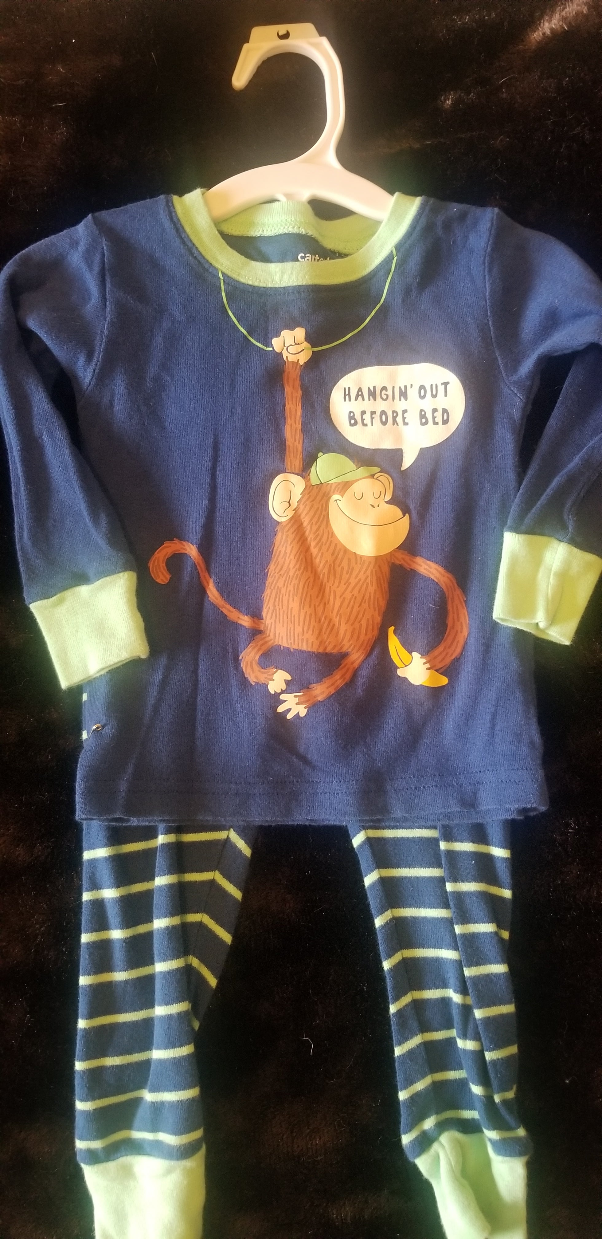 CARTERS 2pc pj set boy 18m