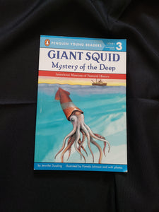 Giant squid mystery of the deep