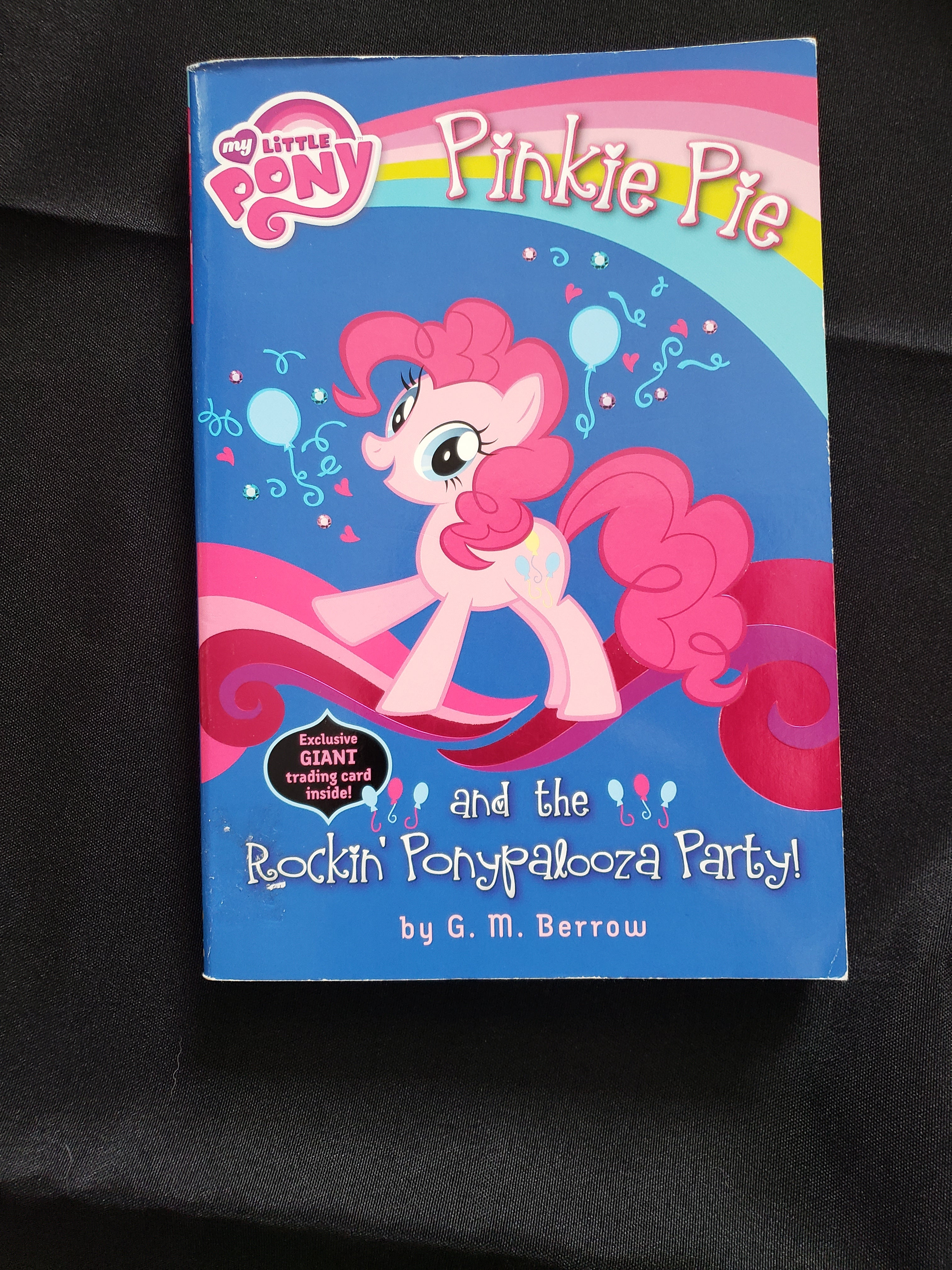 Pinkie pie and the rockin ponypalooza party