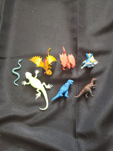 reptile figure grab bag