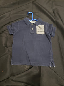 babyGAP 3T blue polo shirt