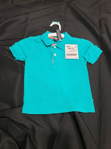 Nautica 4T teal polo shirt