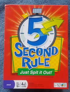 5 second rule complete