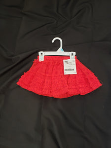Kids Korner size 2T red tulle skirt