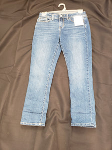 Old Navy size 14 adjustable waistband blue jeans