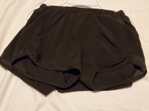 2 pair OLD NAVY active size 8 black shorts