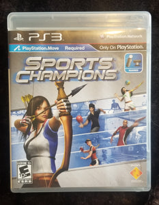 PS3 Sports Champions, *playstation move required but not included