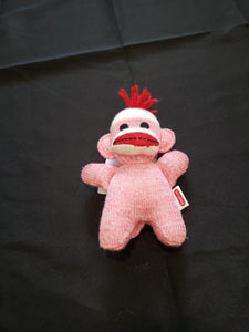 Sock monkey stuffed animal